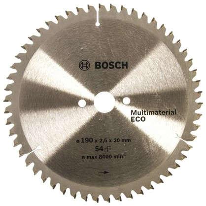 Купить Диск циркулярный по дереву Bosch MultiECO 190x20/16 мм дешевле