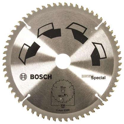 Купить Диск циркулярный по дереву Bosch Special 235x30 мм дешевле