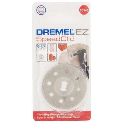 Диск отрезной алмазный Dremel Speedclic SC545 380 мм