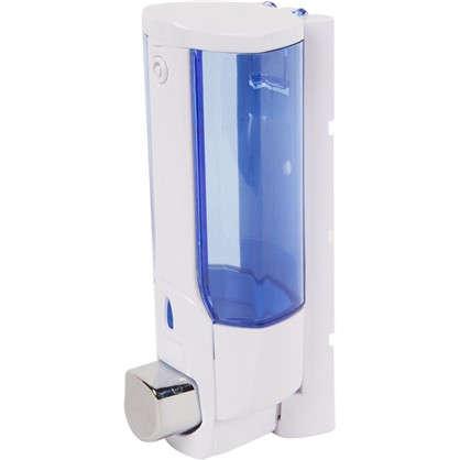 Диспенсер подвесной для жидкого мыла  Mr Penguin 300 мл пластик цвет белый