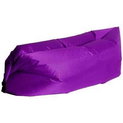 Купить Диван надувной Long 220x70 см цвет фиолетовый дешевле