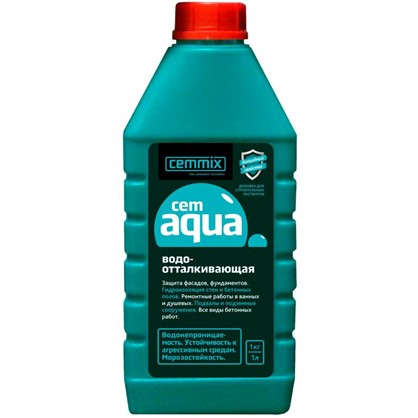 Купить Добавка водоотталкивающая Cemmix CemAqua 1 л дешевле