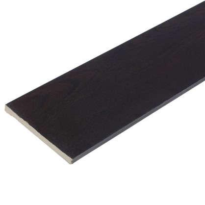 Добор 120 мм CPL цвет дуб шоколадный