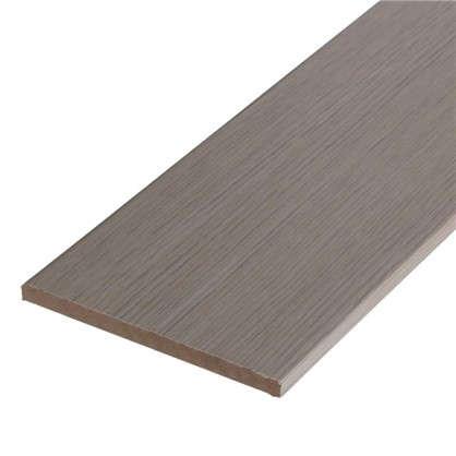 Купить Добор дверной коробки ламинированный Белеза 2100Х120Х8 мм цвет белый дуб дешевле