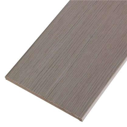 Добор дверной коробки ламинированный Белеза 2100Х120Х8 мм цвет белый дуб