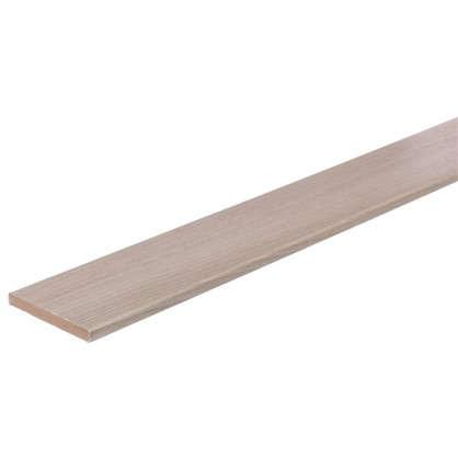Купить Добор дверной коробки Унико 2150х100 мм цвет светлый орех дешевле