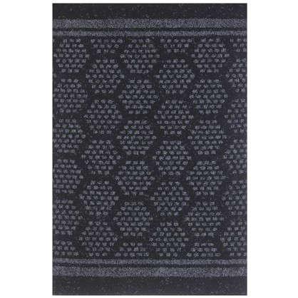 Дорожка ковровая BILBAO 2107 иглопробивое 0.8 м цвет чёрный