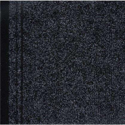 Купить Ковровая дорожка Noventis Biron 2082 иглопробивная 1 м цвет чёрный дешевле