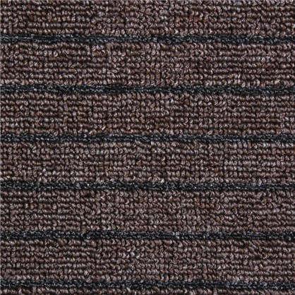 Купить Дорожка Штутгарт  09 м полипропилен цвет коричневый дешевле