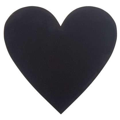 Купить Доска для записей меловая Сердце дешевле