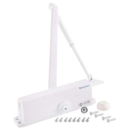 Купить Доводчик 10120 BC 80-120 кг цвет белый дешевле