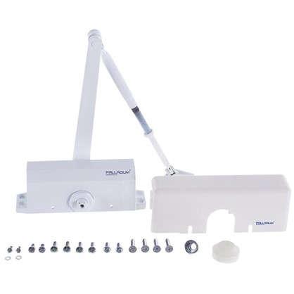 Купить Доводчик 1045 D 25-45 кг цвет белый дешевле