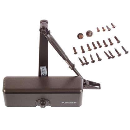 Доводчик 1060 40-60 кг цвет коричневый