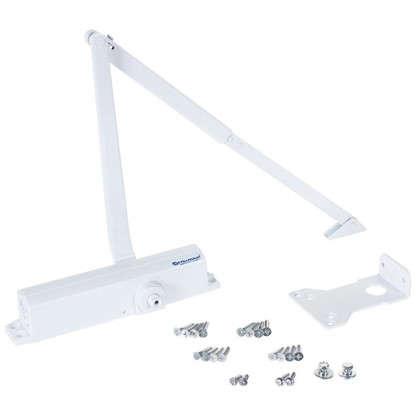 Купить Доводчик 10600 BC/DA 30-85 кг цвет белый дешевле