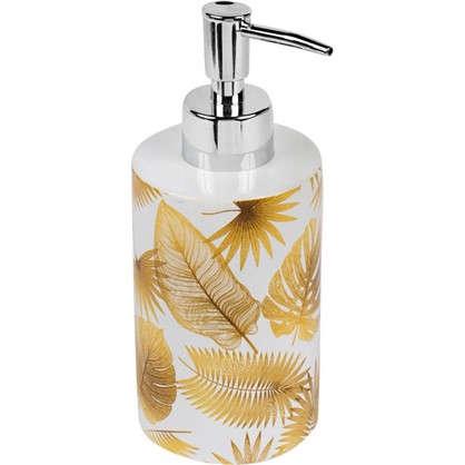 Дозатор для жидкого мыла Leafage керамика