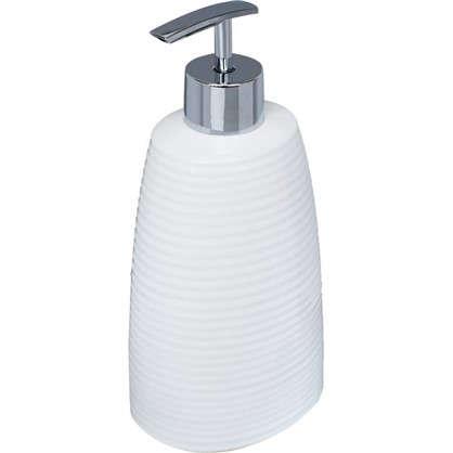 Дозатор для жидкого мыла Lilyum цвет белый