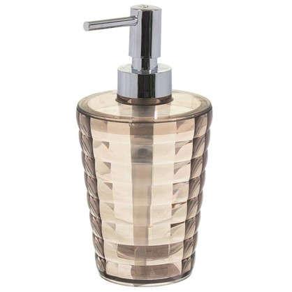 Купить Дозатор для жидкого мыла настольный цвет мокко дешевле