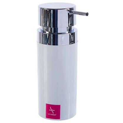 Дозатор для жидкого мыла настольный Lenox цвет белый