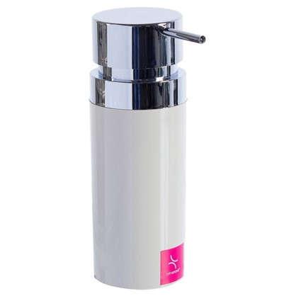 Дозатор для жидкого мыла настольный Lenox цвет бежевый