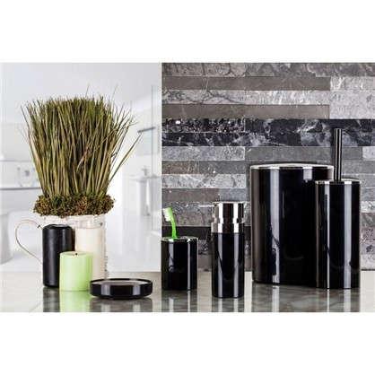 Дозатор для жидкого мыла настольный Lenox цвет черный