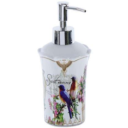 Дозатор для жидкого мыла настольный Птички