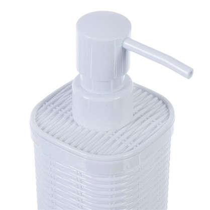 Дозатор для жидкого мыла настольный Roundy пластик цвет белый