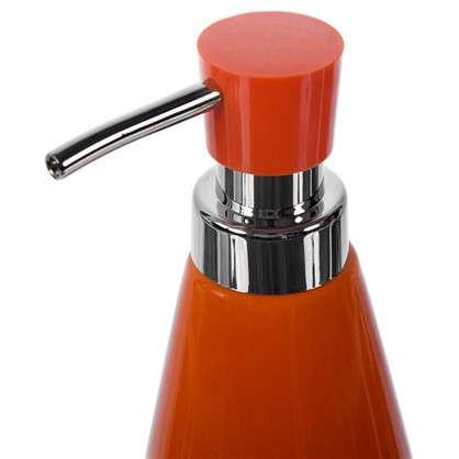 Дозатор для жидкого мыла настольный Veta керамика цвет оранжевый