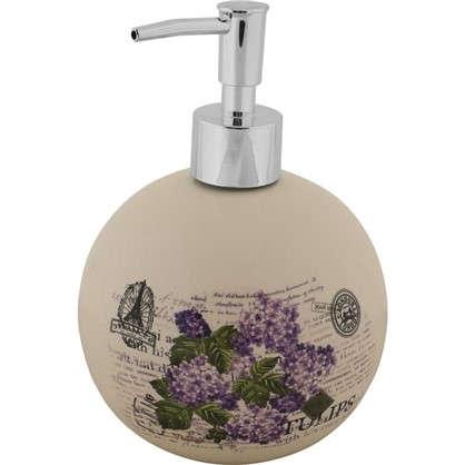 Купить Дозатор для жидкого мыла настольный Vidage Violetta керамика цвет белый дешевле