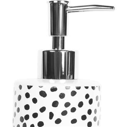 Дозатор для жидкого мыла Spots керамика