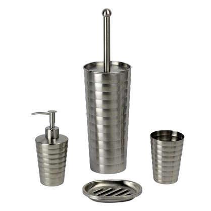 Дозатор для жидкого мыла Yukon нержавеющая сталь