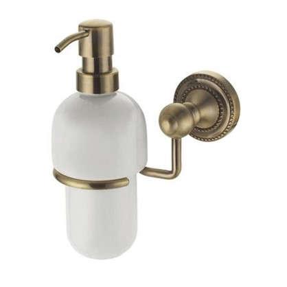 Дозатор подвесной для жидкого мыла Antik керамика цвет бронза