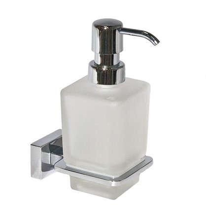 Дозатор подвесной для жидкого мыла Bruklin цвет белый