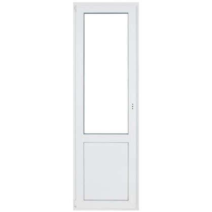 Дверь балконная ПВХ 218х67 левая 2х камерная