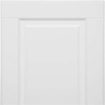 Дверь для кухонного шкафа Леда белая 80х35 см