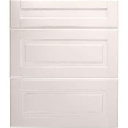 Дверь для кухонного шкафа Леда белая 80х70 см