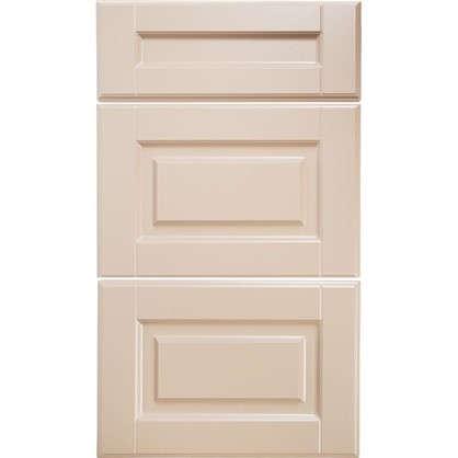 Дверь для кухонного шкафа Леда бежевая 3 ящика 40 см