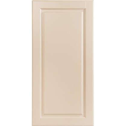 Купить Дверь для кухонного шкафа Леда бежевая 30х92 см дешевле