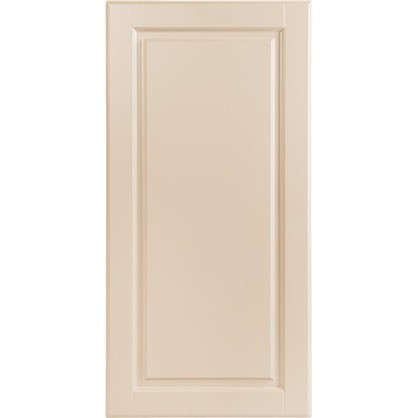 Дверь для кухонного шкафа Леда бежевая 40x92 см