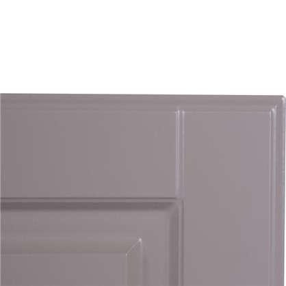 Дверь для кухонного шкафа Леда бежевая 80 см 3 ящика