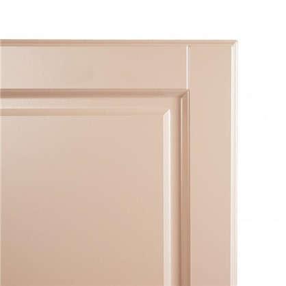 Дверь для кухонного шкафа Леда бежевая 80х35 см
