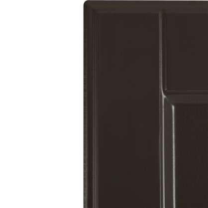 Дверь для кухонного шкафа Леда серая 15х70 см
