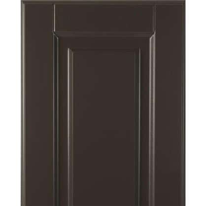 Дверь для кухонного шкафа Леда серая 30х92 см
