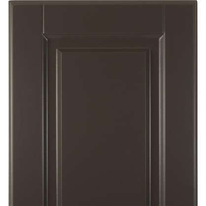 Дверь для кухонного шкафа Леда серая 33х70 см