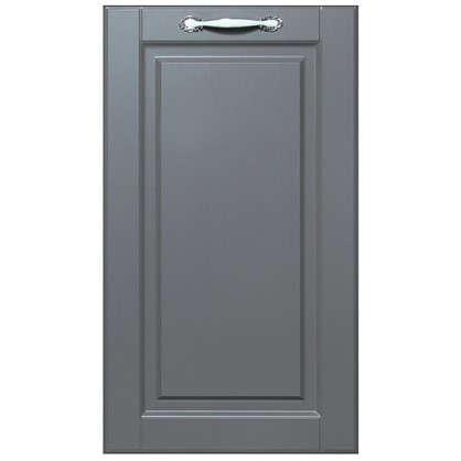 Дверь для кухонного шкафа Леда серая 40х70