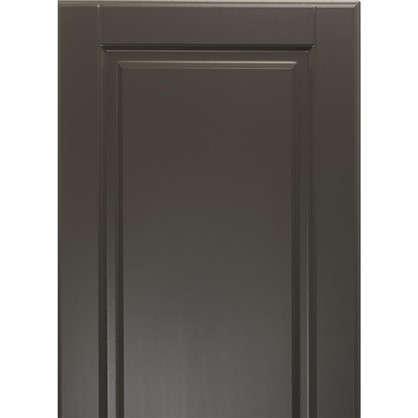 Дверь для кухонного шкафа Леда серая 40х92 см
