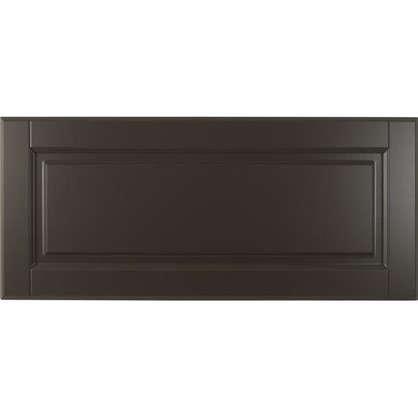 Дверь для кухонного шкафа Леда серая 80х35 см