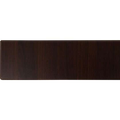 Дверь для кухонного шкафа под духовку Византия 60х15 см цвет темно-коричневый