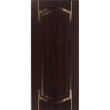 Дверь для кухонного шкафа Византия 30х92 см цвет темно-коричневый