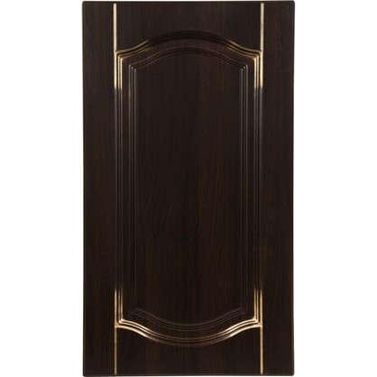 Дверь для кухонного шкафа Византия 40х70 см цвет темно-коричневый