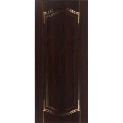 Купить Дверь для кухонного шкафа Византия 40х92 см цвет темно-коричневый дешевле